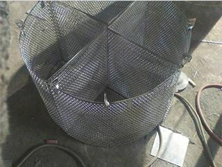 不锈钢扇形滤器